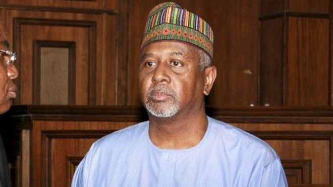 Former National Security Adviser Sambo Dasuki