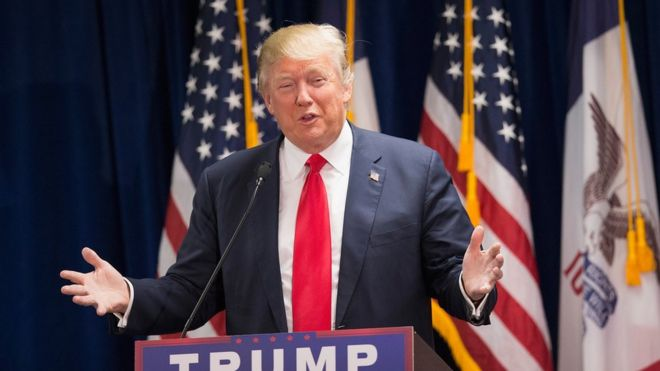 Donald Trump - Photo from BBC.com