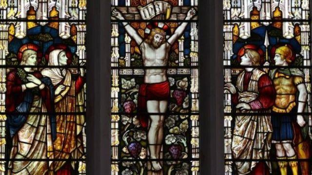 Vitrales de una Iglesia británica.
