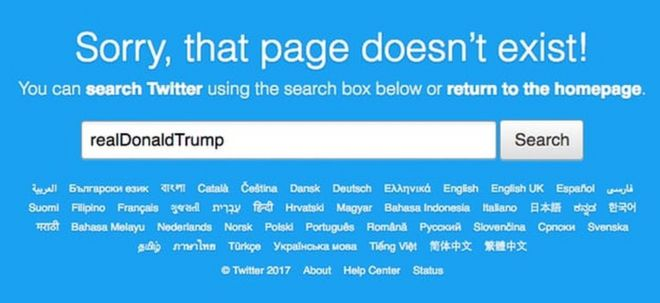 Image result for Twitter  Donald Trump's Account