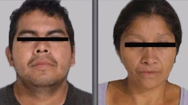 foto dos suspeitos com tarja no olho