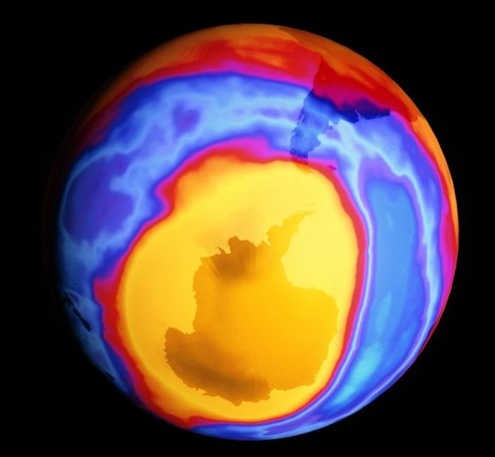 Resultado de imagen para la mayoría de las misteriosas emisiones de un gas que destruye la capa de ozono provienen de China