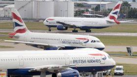 British Airways planes