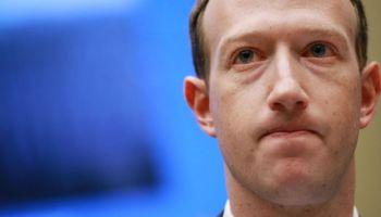 Mark Zuckerberg en una foto de 2018