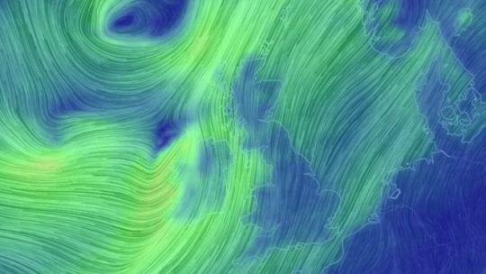 Storm Ali to bring high winds and rain across much of Scotland   BBC     Weather map showing storm over UK
