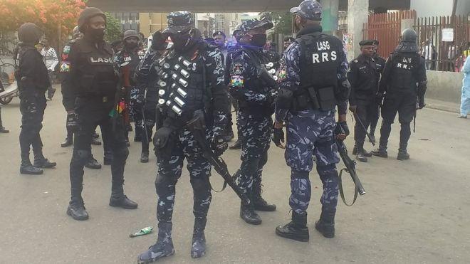 Lekki Toll Gate Lagos Nigeria [EndSARS protest]