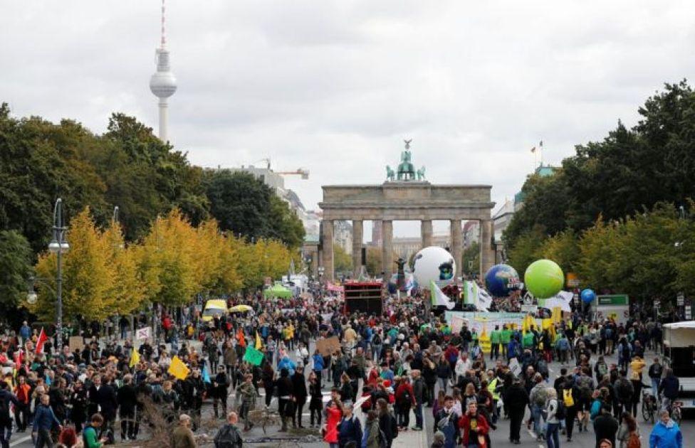 Mudaharaadayaasha isbeddelka cimilada ee Berlin
