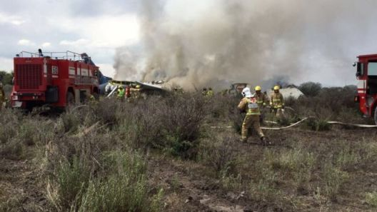 Image result for In Mexico;  Airplane crashes in Durango after take-off