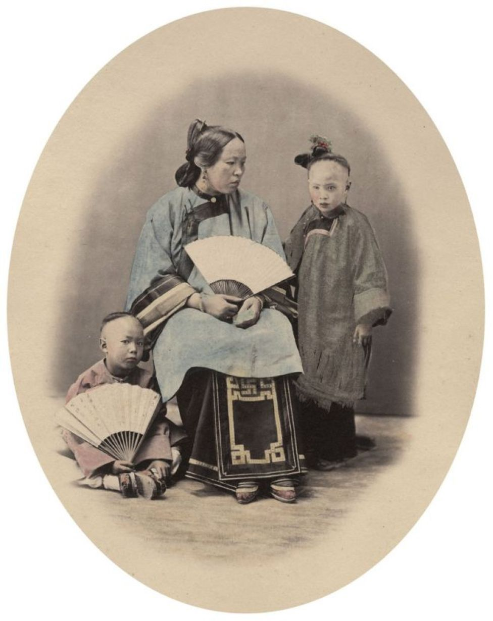 Una familia de Ningpo