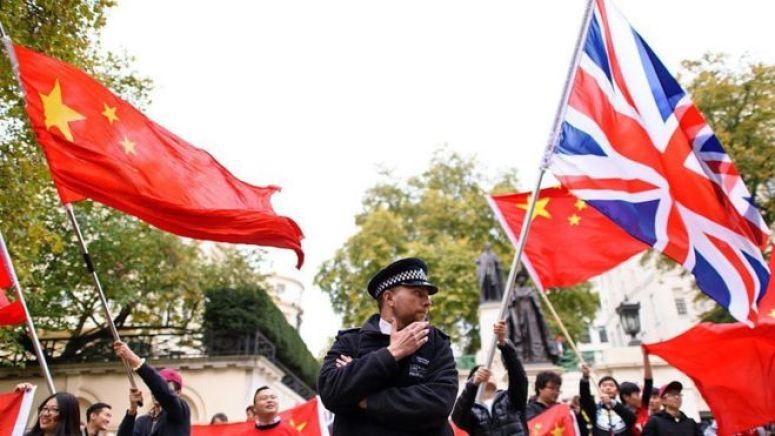 中国英国国旗