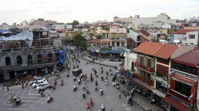 Trung tâm Hà Nội được xây dựng lại - ảnh chụp năm 2007