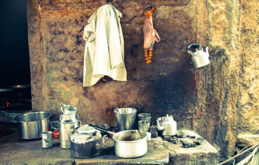 Chai stall in Varanasi