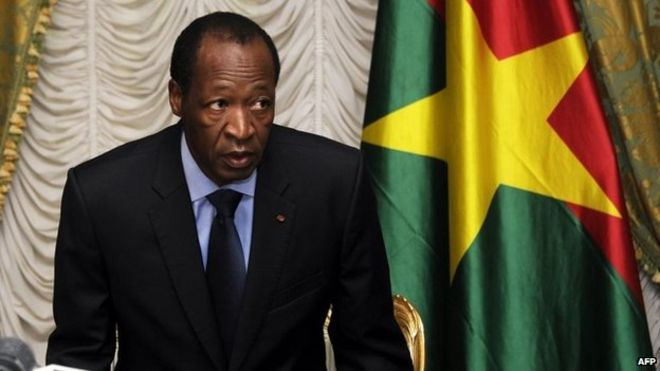 Image result for Blaise Compaore- Burkina Faso
