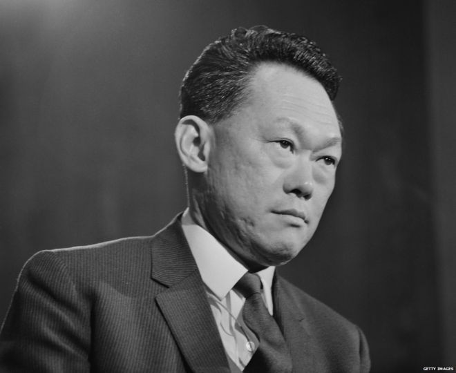 Lee Kuan Yew (5 Jan 1969)
