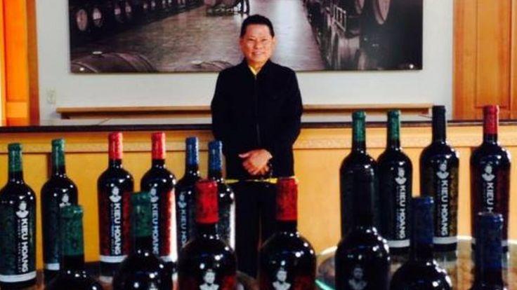 Tỷ phú và hãng rượu vang Hoang Kieu Winery