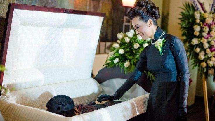Bà Nguyễn Cao Kỳ Duyên vĩnh biệt mẹ