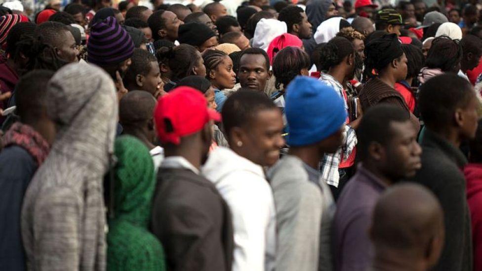 En México hay 7.300 haitianos que no pudieron llegar a Estados Unidos.