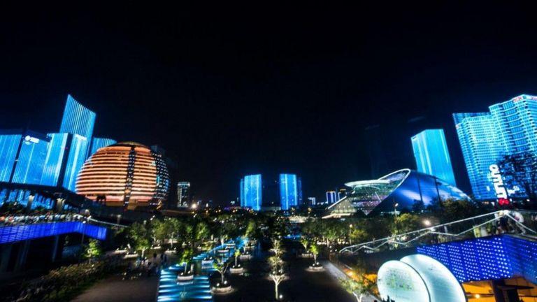 Khu đô thị mới ở Hàng Châu