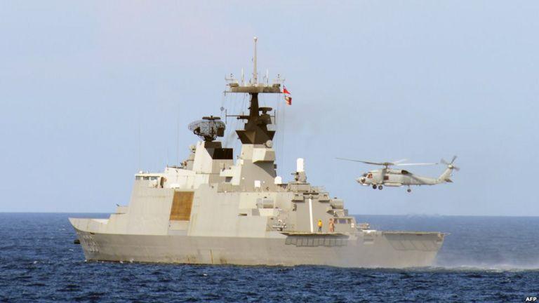 Quân đội Đài Loan diễn tập tại eo biển Bashi hôm 16/5/2013