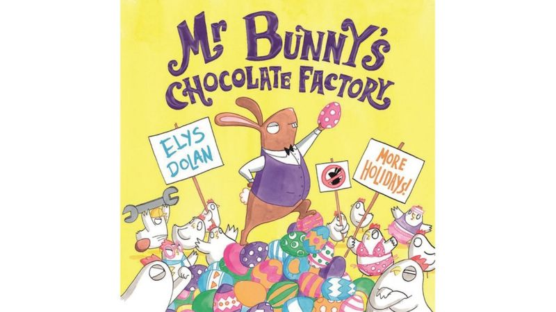 Mr Bunny's Chocolate Factory book cover