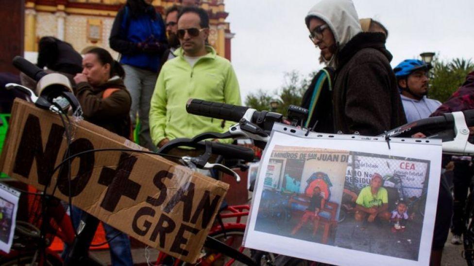 Una manifestación por el crimen contra los ciclistas