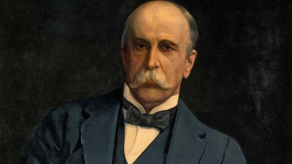 Sir William Osler. por Harry Herman Salomon
