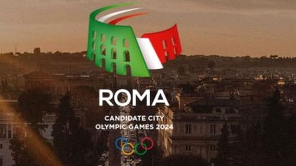 Screengrab from Roma 2024 bid website