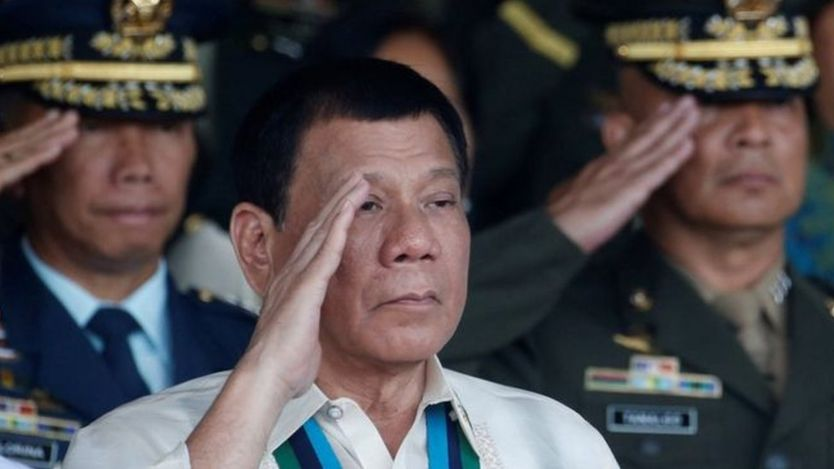 Duterte, trực thăng, nghi phạm