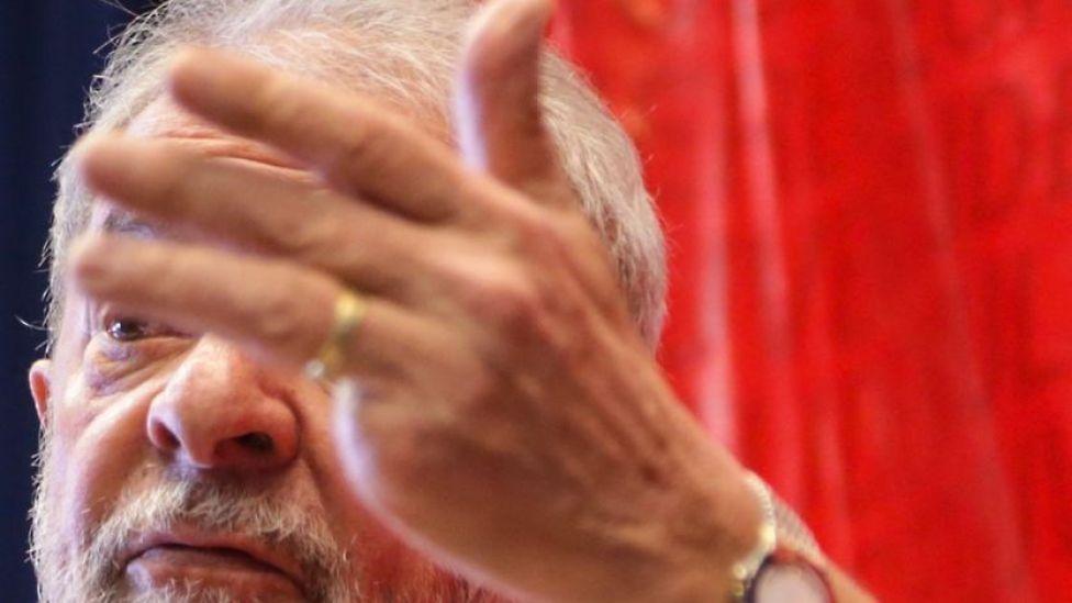 Lula en una foto del 10 de julio