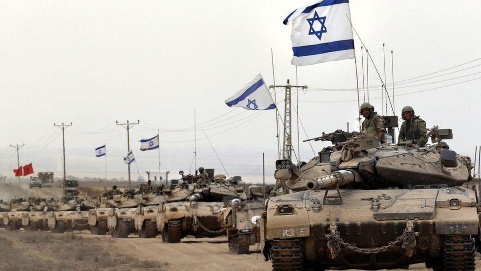 Tanques israelíes penetran la Franja de Gaza