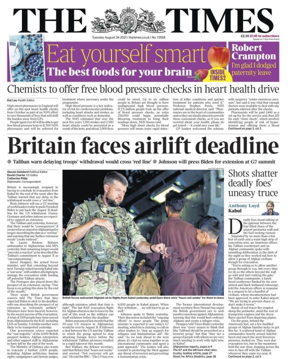 The Times - 24/08/21