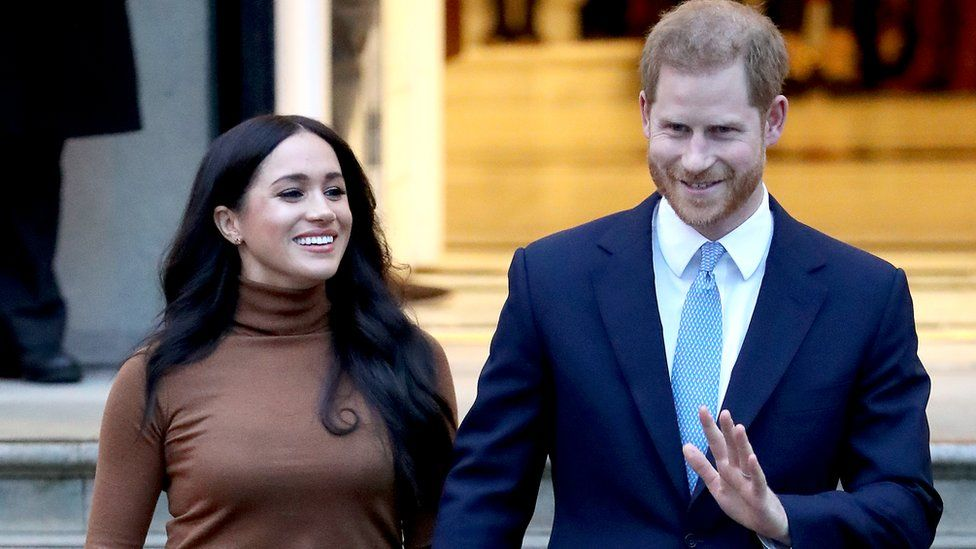 Prince Harry And Meghan To Step Back As Senior Royals Bbc News