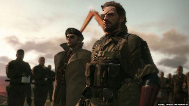 Screenshot form Metal Gear Solid 5
