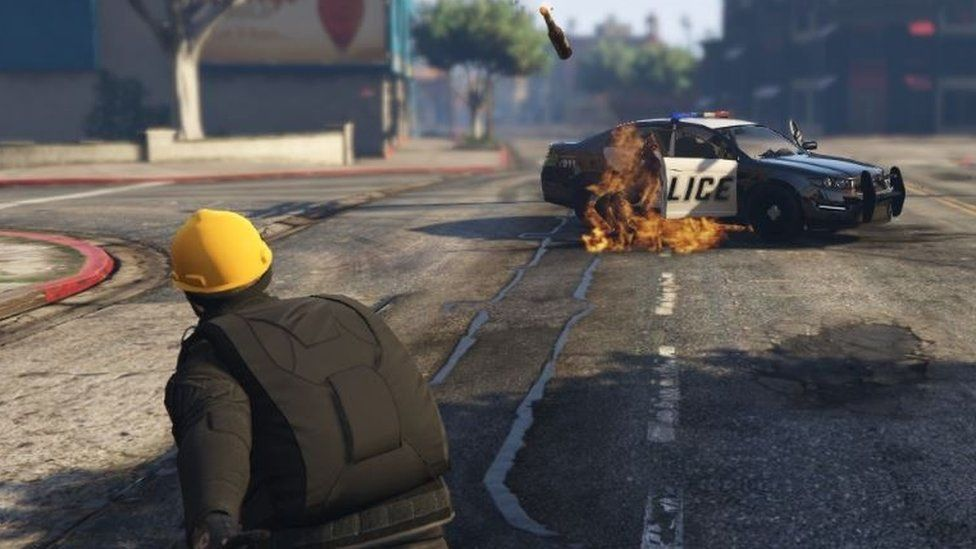 My Attempt At A Riot Police Outfit Gtaonline