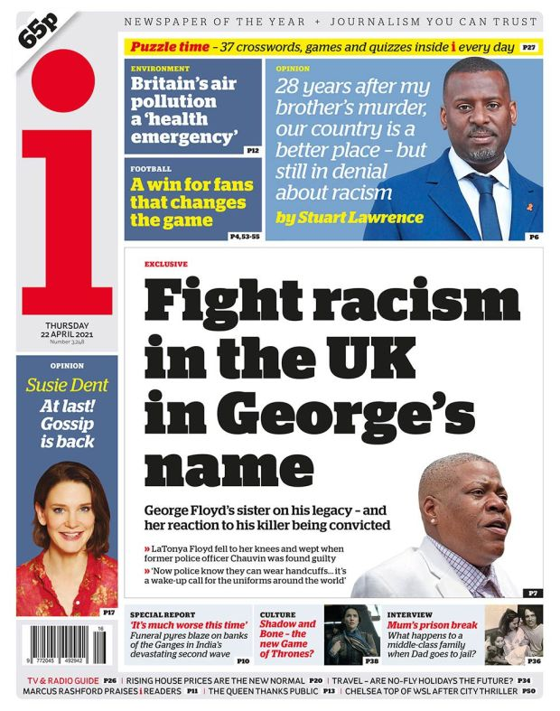 The i front page 22.04.21