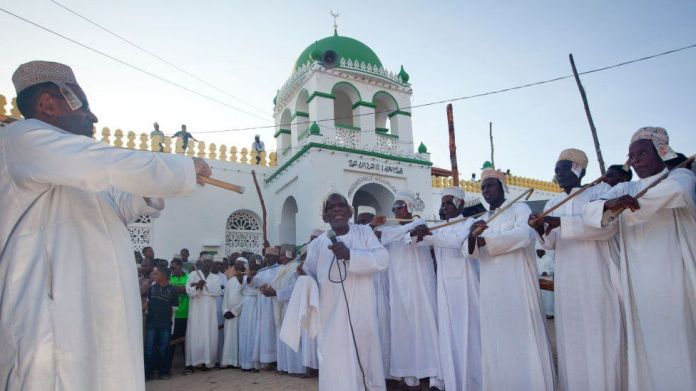 Worshippers during Maulid celebrations