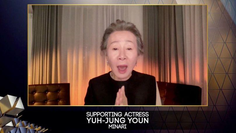 South Korea's Yuh-Jung Youn won best supporting actress