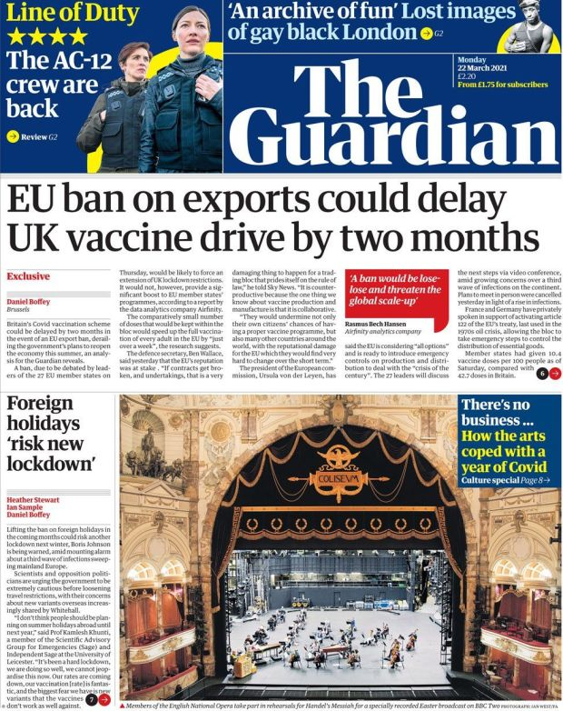 The Guardian 22 March
