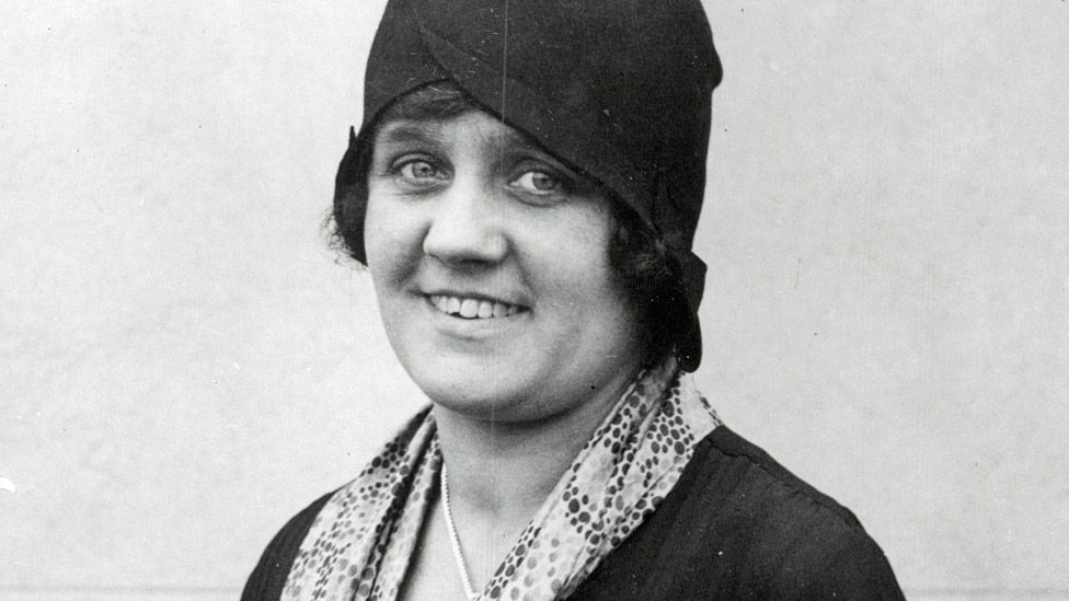 Clarice Cliff in 1929
