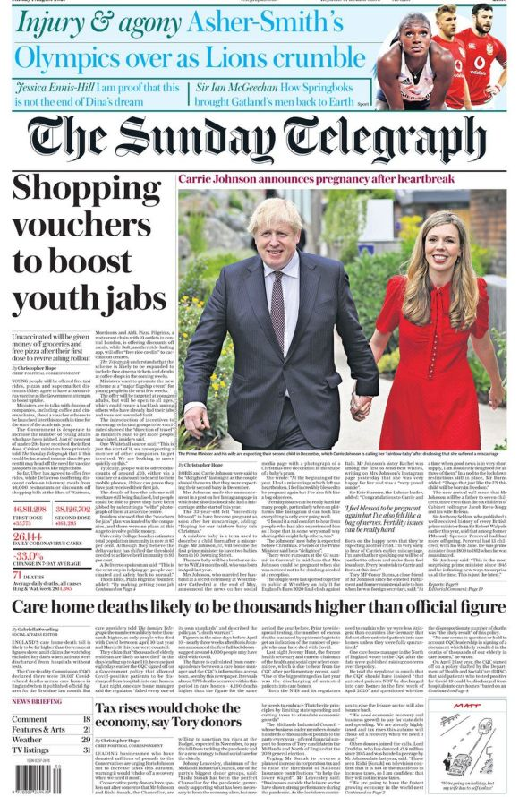 The Sunday Telegraph 1 August