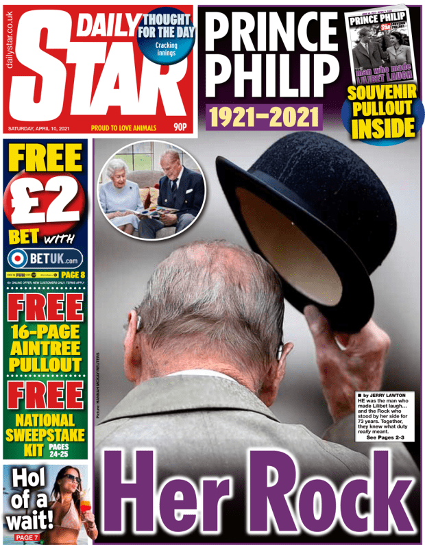 The Daily Star front page 10 April 2021