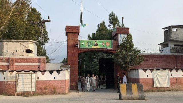 The civilian and military headquarters in Bajaur district