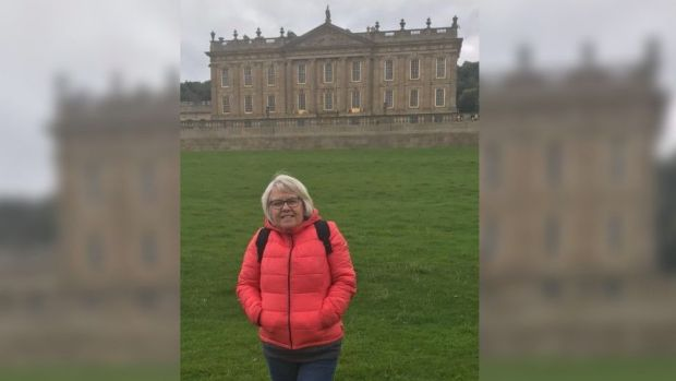 Diane Burrows at Chatsworth