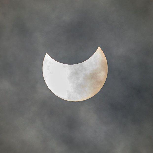 Eclipse from Edinburgh