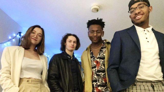 Munashe and his housemates