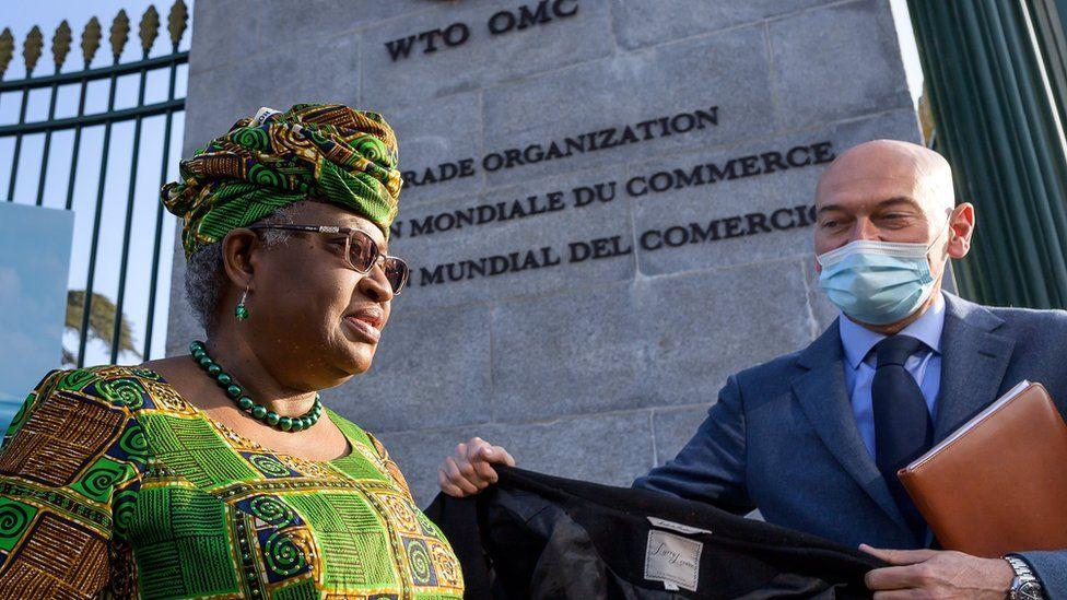 Ngozi Okonjo-Iweala makes history at WTO - BBC News