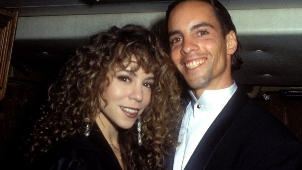 Morgan and Mariah Carey