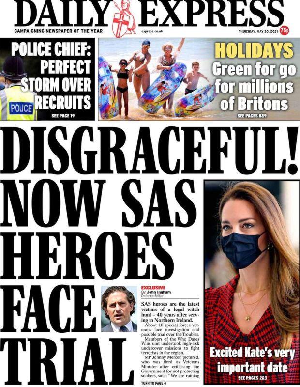 The Daily Express 20 May
