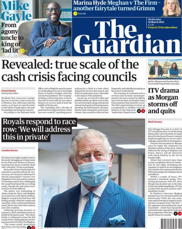 The Guardian 10 March