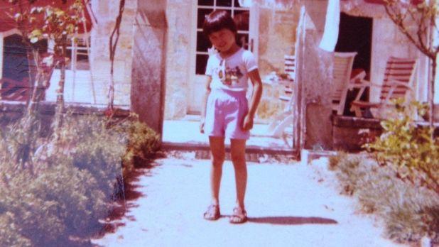 Image shows Mié Kohiyama as a child